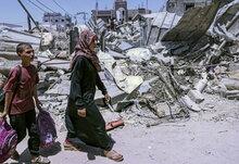 Gaza: WFP leistet Soforthilfe für Familien in Not