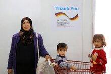 Deutsche Unterstützung hilft WFP Kürzung der Ernährungshilfe für Flüchtlinge in Jordanien abzuwenden
