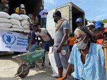 Erdeben vergrößert Not in Haiti: WFP verstärkt laufende Hilfe
