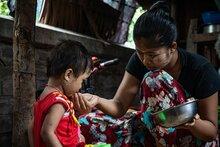 Finanzierungslücke behindert lebensrettende Hilfe von WFP angesichts des zunehmenden Hungers in Myanmar