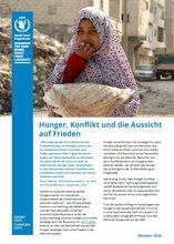 Hunger, Konflikt und die Aussicht auf Frieden Factsheet - 2020
