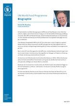 Biographie - David Beasley, Exekutivdirektor