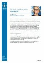 Biographie – Ute Klamert, Beigeordnete Exekutivdirektorin