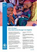 Factsheet: Zero Hunger – Eine Welt ohne Hunger ist möglich
