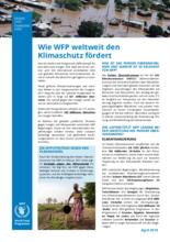 Wie WFP weltweit den Klimaschutz fördert